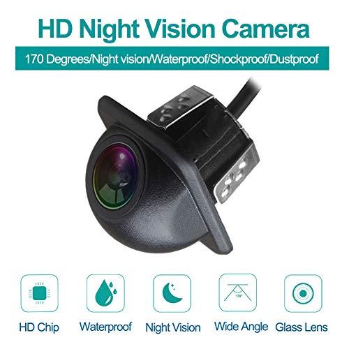AnKing Rückfahrkamera Auto-Rückfahrkamera mit Super Night Vision IP67 Wasserdicht Seismic Dust Prevention Rückfahrkamera Weitwinkel