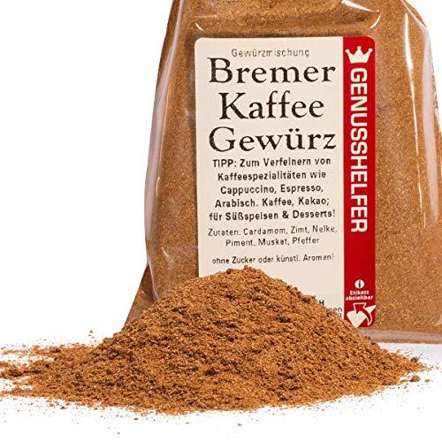 Bremer Gewürzhandel - Kaffee-Gewürz 50 Gramm gemahlen - Gewürz für Kaffee, Tee oder Kakao - ohne Geschmacksverstärker