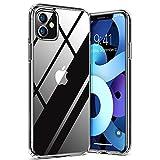 TORRAS Diamond Series Kompatibel mit iPhone 11 Hülle [Vergilbungsfrei] Stoßfest Durchsichtig für iPhone 11 Hülle Hard PC Back und Soft Silikon Bumper Schutzhülle Handyhülle für iPhone 11 (Transparent)