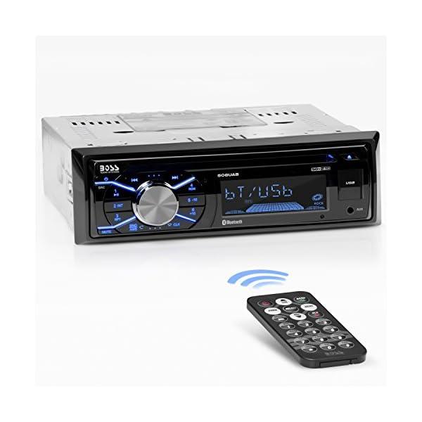 BOSS Audio Double Din, Bluetooth, MP3/USB/SD AM/FM Car Stereo, Wireless Remote, Multi...