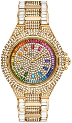 Michael Kors Women s Camille Quartz Watch with Stainless Steel Strap Gold 20 Model MK6886 product image