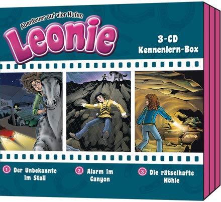 Leonie-Abenteuer auf vier Hufen - Box 1: 3-CD Kennlern-Box