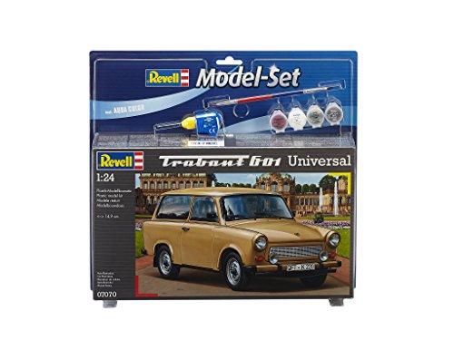 Revell - 67070 - Maquette De Voiture - Trabant 601 Universal - 150 Pièces - Echelle 1/24