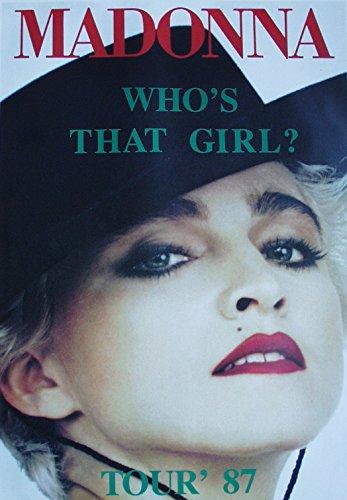 Madonna Poster Nr. 4 Format 62 x 86 cm Original von 1987