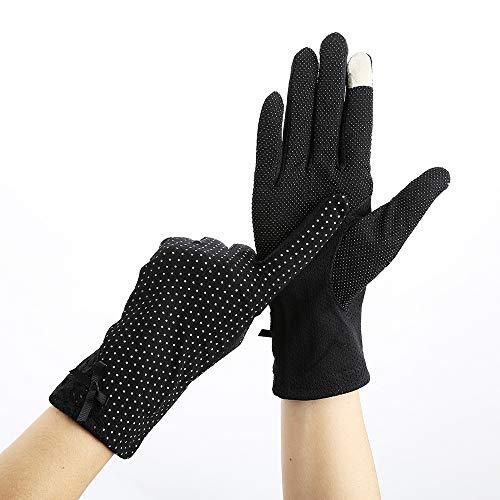 Guantes De Pantalla Táctil De Protección Solar De Verano Para Mujer,Sombrilla Delgada,Deportes...