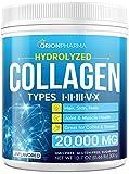 Collagen Powder - Multi Collagen Protein Powder - Made in The USA - Bovine Collagen Peptides Powder - Hydrolyzed Collagen Powder for Skin, Hair & Nail Support - Natural Collagen Supplements