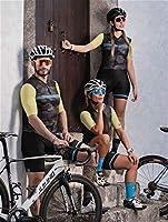 メンズとレディースサイクリングの服Triathlon Cycling Jersey JumpSuitの半袖スーツ9Dサイクリングレースプロジャージ (Color : 2, Size : 4X-large)