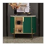JDJD Comedor Consola Aparador Moderno Minimalista Restaurante Cabinete De Vino Muro De Cocina Mueble De Té (Color : 1m Green)