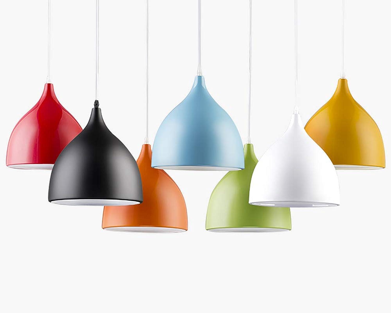 JCM Café-Restaurant-Leuchter des nordischen modernen unbedeutenden kreativen einzigen Kopfes ZJ (Farbe   Grün, Größe   M)