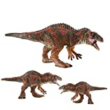 LU2000 Roll Over Image to Zoom in Solid Simulation Dinosaur Model Acrocanthosaurus Plastic Animal Toys Dinosaur Collection Decoration - Medium (Q19)