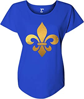 Gold Fleur De Lis - Mardi Gras New Orleans Women's Dolman