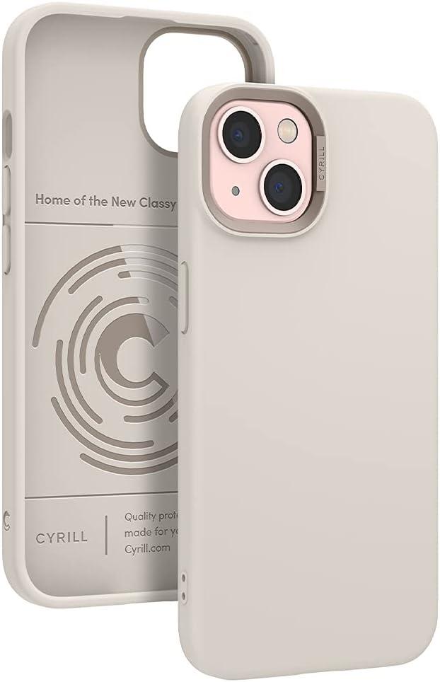 CYRILL Color Brick Designed for iPhone 13 Case (2021) - Cream