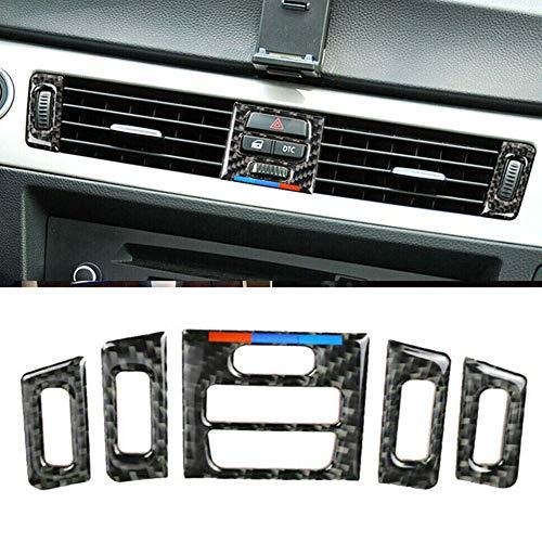 Ajboy Kfz-Lüftungsauslass für Innenraum, Kohlefaser, Zubehör für BMW E90 E92 E93