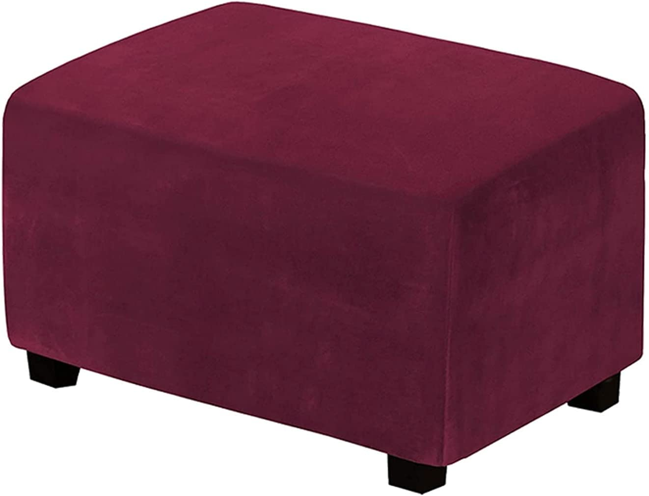 5% OFF YXLJC Ottoman Footstool Cover Elastic W Online limited product Protective Stretch