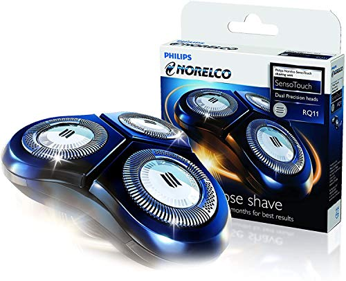RQ11 Replacement Heads Designed For Philips Norelco SensoTouch 2D Shavers, 1150x, 1160x, 1170x 1180x.Easy To Replace The New Blades(Single Pack)