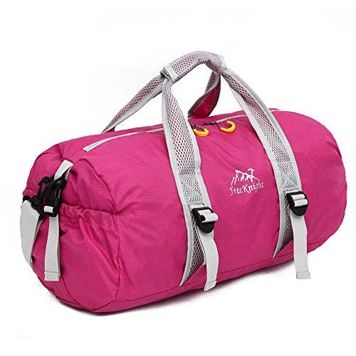 Festnight Opvouwbare lichte rugzak klein, vrije ridder, ultralicht draagbaar in de buitenzak, reizen, handtas, schoudertas, grote capaciteit, geschikt voor yoga-duffle bag, zadeltas- lichaamstas