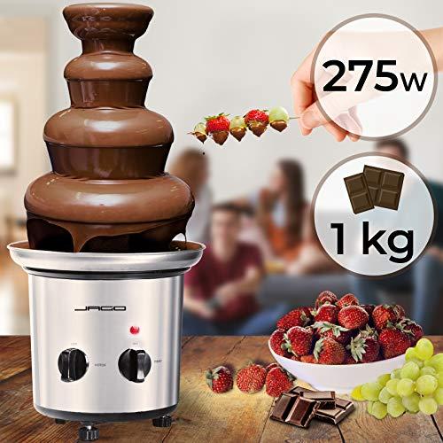 Fontaine à Chocolat - 275 W, 4 Étages, Capacité 1 kg,...