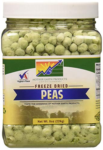 Mother Earth Products Freeze Dried Peas, 1 Full Quart by Mother Earth Products