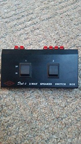 2 Pair Speaker Selector Switch Box