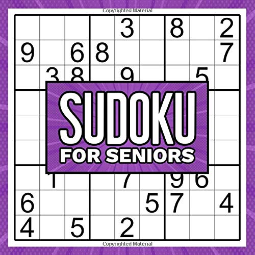 Sudoku For Seniors: Easy Extra Large Print Sudoku Puzzles