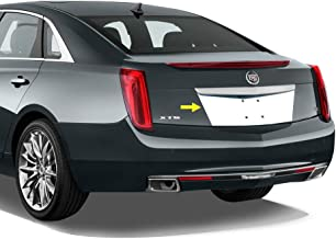 Tyger Auto Made in USA! Works with 2013-2019 Cadillac XTS Stainless Steel Chrome License Plate Backdrop 1PC