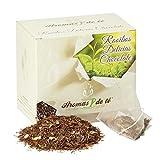 Aromas de Té - Infusión Rooibos Delicias de Chocolate/Rooibos Anti-Oxidante de Alta Calidad, Té Rooibos Chocolate 100% Natural en Bolsitas, 10 Pirámides