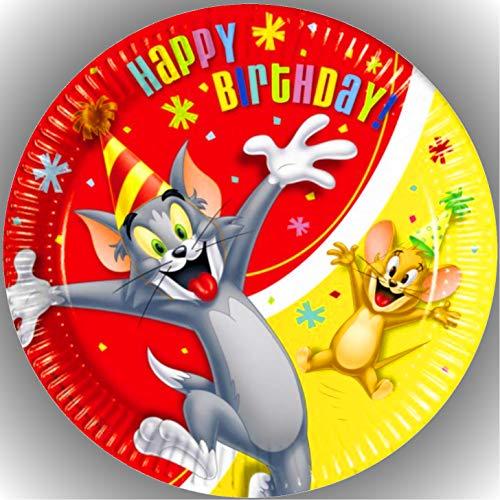 Premium Esspapier Tortenaufleger Geburtstag Tom und Jerry AMA 13