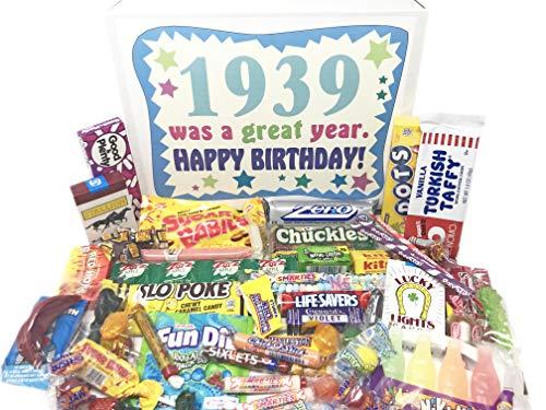 1939 Retro Candy Birthday Gift Basket