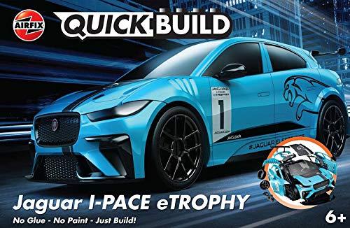 Airfix J6033 QUICKBUILD Jaguar I-PACE Trophy Bausteine, Bausatz