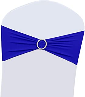 wedding reception royal blue