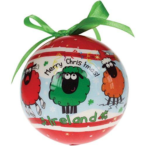 Dublin Gift Wacky Woollies Christmas Ornament 4-inch