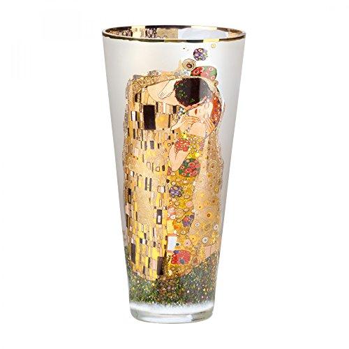 Goebel 66487786 Gustav Klimt Vase Der Kuss