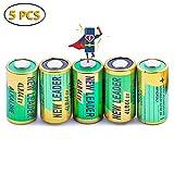 MASBRILL Piles Collier Anti Aboiement avec 5 Piles Alcalines 476A / PX28A / A544 / K28A / L1325 pour PCS 6V 4LR44 Batterie