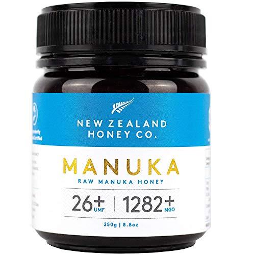 New Zealand Honey Co. Manuka Honig UMF 26+ / MGO 1282+ | 250g / Aktiv und Roh | Hergestellt in Neuseeland