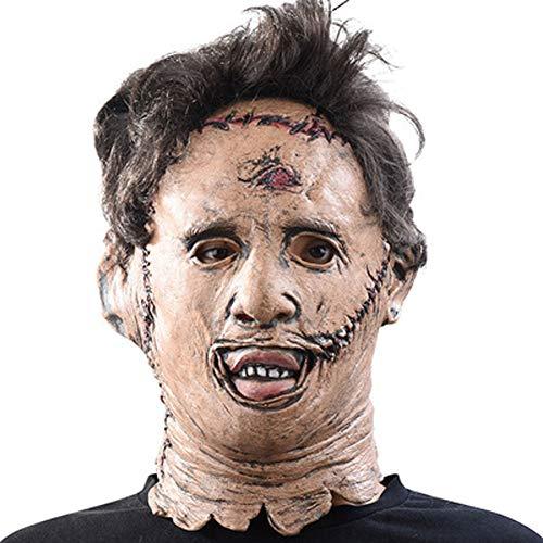 EXUVIATE Latex Gummi Gruselig Schrecklich Gesicht Maske Kopfmaske Halloween Kostüm Walking Dead