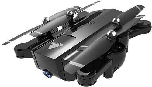 Webla - 2.4 GHz 4Ch prise de position Wifi 720P caméra de débit optique double drone Quadcopter Rc (Noir)