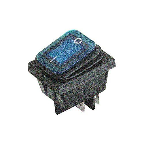Electro DH 11.407.IL/NAZ - Interruptor luminoso c/n/t estanco azul