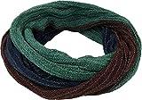 Guru-Shop Weicher Loop Schal/Stola, Magic Loopschal, Weste, Herren/Damen, Blau/grün/braun, Baumwolle, Size:One Size, Schals Alternative Bekleidung