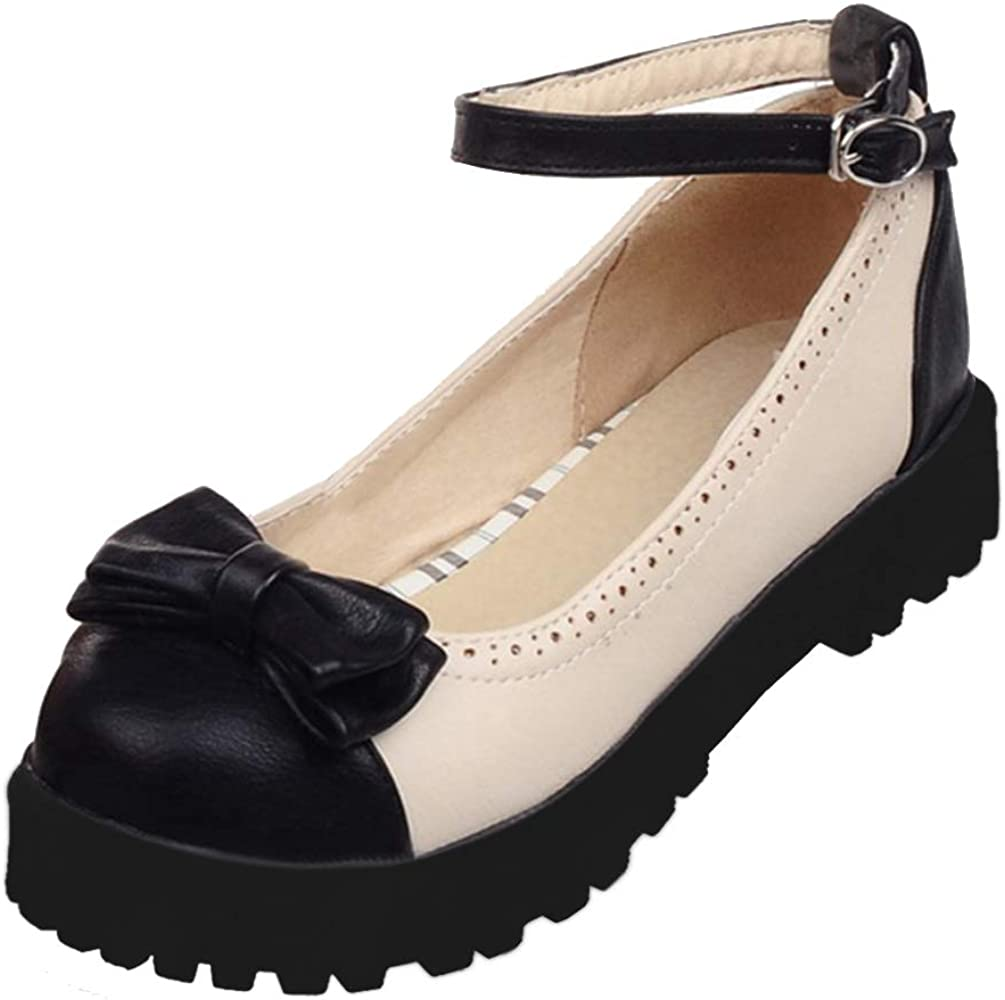 Caradise Womens Sweet Lolita Shoes Flats Uniform Recommended Bow Low price Dre Oxfords