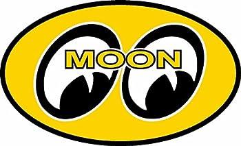 ION Graphics Moon Eyes Rat Fink Rat Rod Old School Hot Rod Muscle Car Performance Sticker