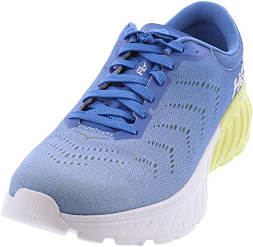 HOKA ONE ONE Women's Mach 2 Running Shoes (Palace Blue/Lime Sherbet, Numeric_9_Point_5)