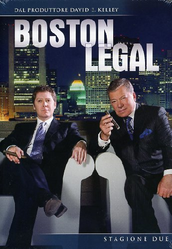 Boston legal Stagione 02 [7 DVDs] [IT Import]