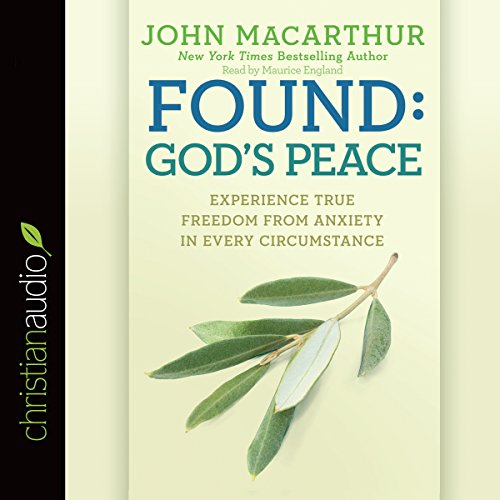 Found: God's Peace audiobook cover art