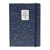 Legami - Notebook, Medium, Medium Photo Notebook, Taccuino a Righe, 12,5x18 cm, 164 Pagine, Taschina Finale, Ultime 24 Pagine Staccabili, Tema Stars, Carta Certificata FSC®, Made in Italy