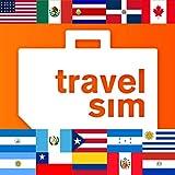 Tarjeta SIM para América-EE.UU.,Canadá, México, Costa Rica, República Dominicana, Guatemala, Honduras, Nicaragua, Puerto Rico, Argentina, Brasil, Chile, Colombia, Paraguay, Perú,Uruguay-1GB