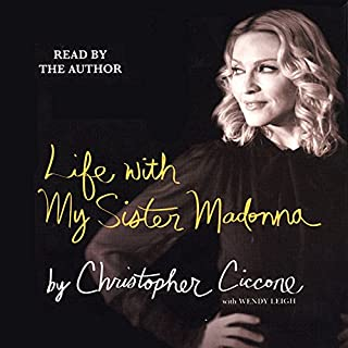 Life with My Sister Madonna audiobook cover art
