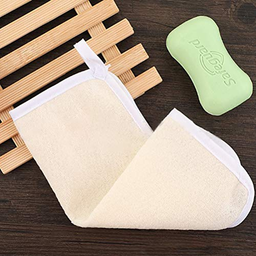 8Pack Exfoliating Nylon Terry Cloth Soft-Weave Wash Cloths Massage Bath Cloth for Women and Man Skin Care, Shower Scrubber, Remove Dead Skin, Beauty Skin Home Massage Bath Cloth Photo #4