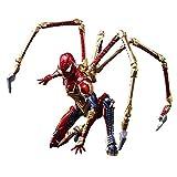 マーベル ユニバース ヴァリアント ブリングアーツ DESIGNED BY TETSUYA NOMURA スパイダーマン PVC製 塗装済み可動フィギュア