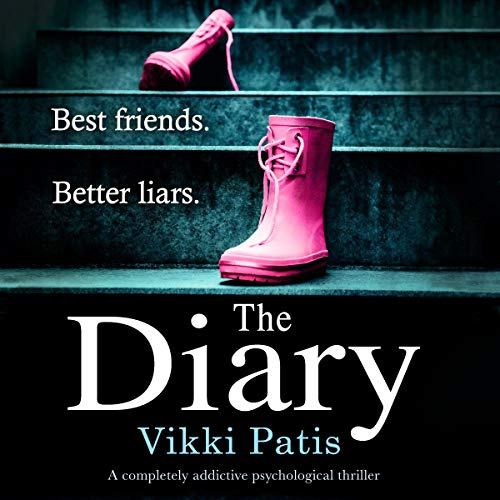 The Diary     A Completely Addictive Psychological Thriller              By:                                                                                                                                 Vikki Patis                               Narrated by:                                                                                                                                 Jasmine Blackborow                      Length: 9 hrs and 59 mins     18 ratings     Overall 3.6
