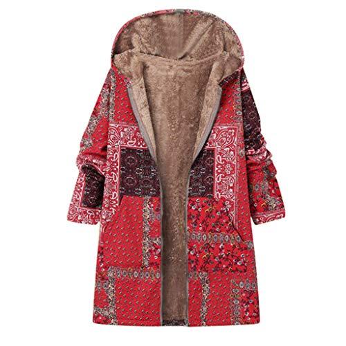 Momoxi Plüsch Damen Jacke Plus Size Warm Weich Print Weihnachtsjacke Geschenkidee Für Winter Rollkragenpullover Weihnachtspullover Sommerjacke Softshellmantel Strickjacke Steppjacke